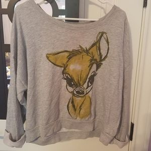 Disney bambi shirt Small